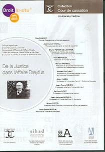 De la justice dans l'affaire Dreyfus (coffret 1 CD-Rom)