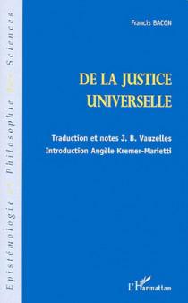 De la justice universelle