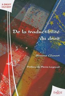 De la traductibilité du droit
