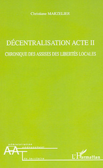 Décentralisation acte II