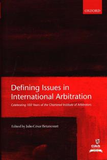 Defining Issues in International Arbitration