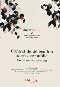 Contrat de délégation de service public