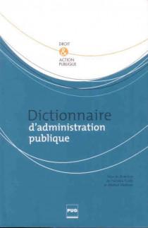 Dictionnaire d'administration publique