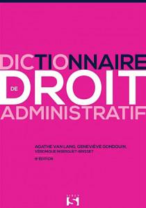 Dictionnaire de droit administratif