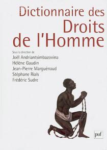 Dictionnaire des droits de l'homme (grand format)