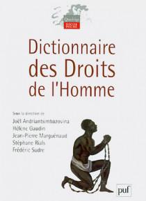 Dictionnaire des droits de l'homme (petit format)