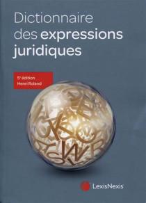 Dictionnaire des expressions juridiques