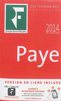 Dictionnaire paye 2014