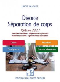 Divorce, séparation de corps