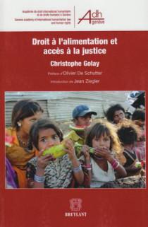 Droit à l'alimentation et accès à la justice