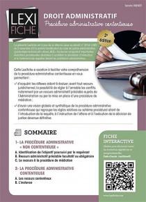 Droit administratif (fascicule)