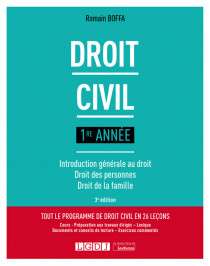 [EBOOK] Droit civil 1re année