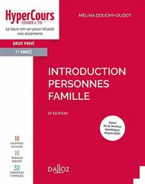 Droit civil 1re année - Introduction, personnes, famille
