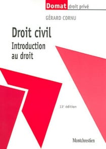 Droit civil. Introduction au droit
