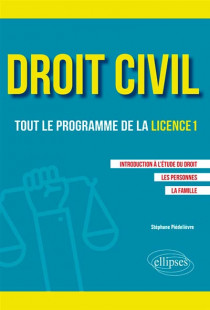 Droit civil : tout le programme de la licence 1