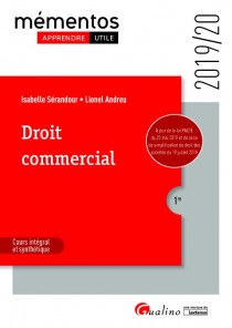 [EBOOK] Droit commercial