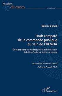 Droit comparé de la commande publique au sein de l'UEMOA