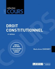 [EBOOK] Droit constitutionnel