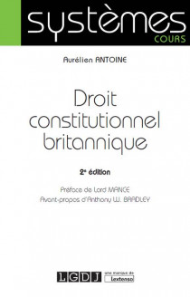 [EBOOK] Droit constitutionnel britannique