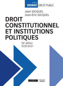 [EBOOK] Droit constitutionnel et institutions politiques
