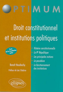 Droit constitutionnel et institutions publiques