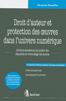 Droit d'auteur et protection des oeuvres dans l'univers numérique