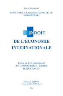 Droit de l'économie internationale