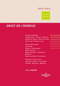 Droit de l'énergie 2014-2015