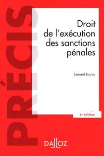 Droit de l'exécution des sanctions pénales