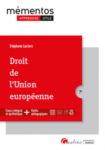 [EBOOK] Droit de l'Union européenne
