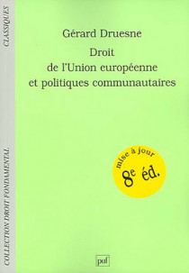 Droit de l'Union européenne et politiques communautaires