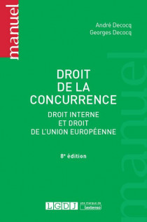 [EBOOK] Droit de la concurrence