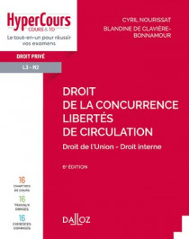 Droit de la concurrence - Libertés de circulation