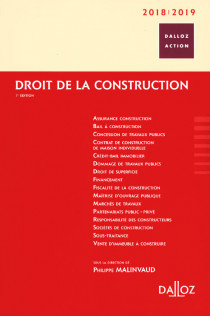 Droit de la construction 2018-2019