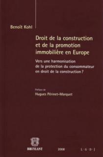 Droit de la construction et de la promotion immobilière en Europe