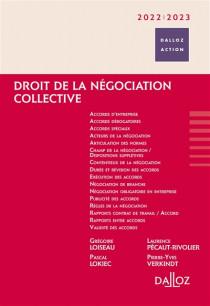 Droit de la négociation collective 2022-2023