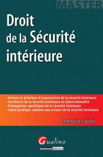 [EBOOK] Droit de la sécurité intérieure