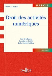 Droit des activités numériques
