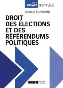 [EBOOK] Droit des élections et des référendums politiques