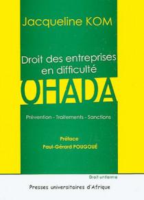 Droit des entreprises en difficulté OHADA