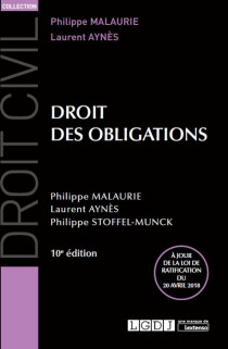 Droit des obligations [EBOOK]