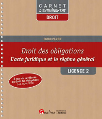 [EBOOK] Droit des obligations L2-S1
