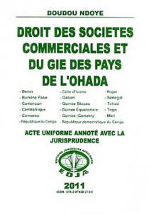 Droit des sociétés commerciales et du GIE des pays de l'OHADA