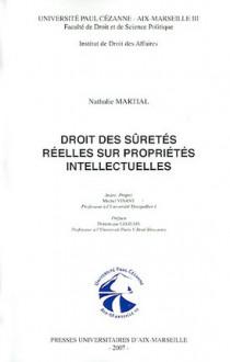 Droit des sûretés réelles sur propriétés intellectuelles
