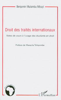 Droit des traités internationaux