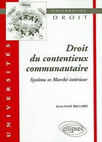 Droit du contentieux communautaire