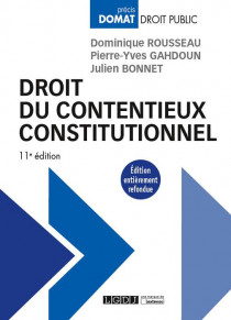 Droit du contentieux constitutionnel [EBOOK]