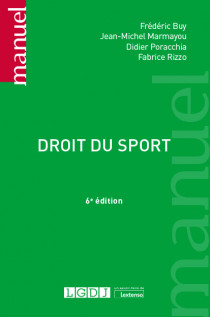 [EBOOK] Droit du sport