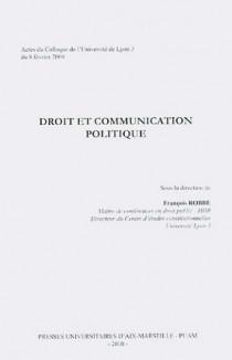 Droit et communication politique