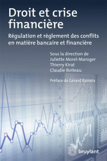 Droit et crise financière
